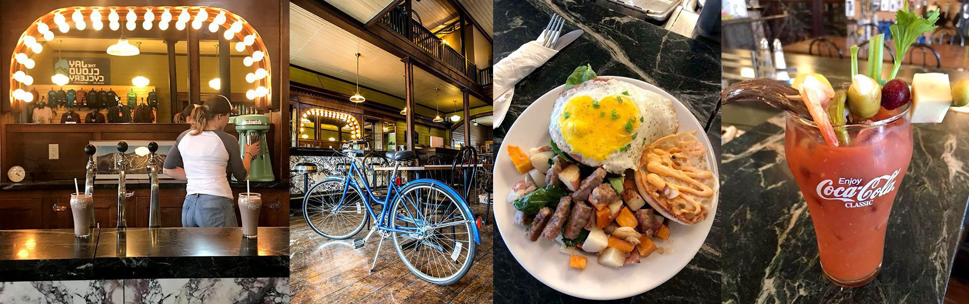 Blue Bike Cafe header web