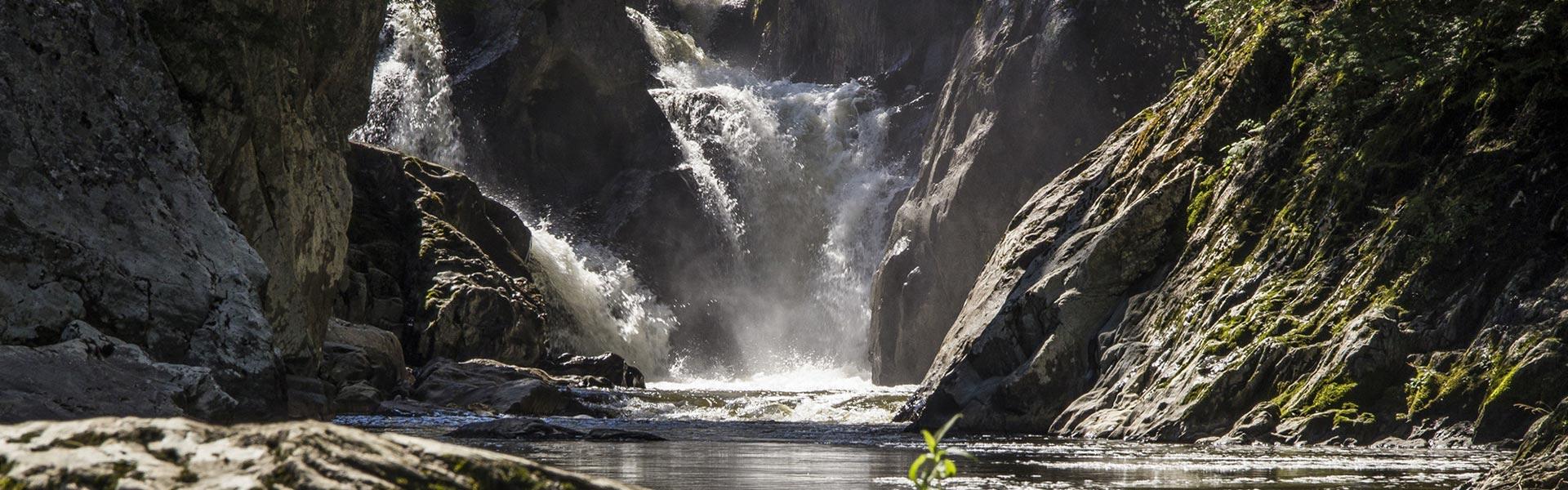 Big Falls header