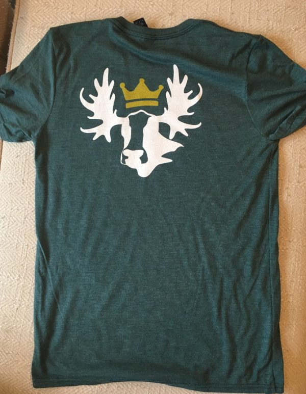 getNEKedVT CowMoose Domain Tee in Green Back