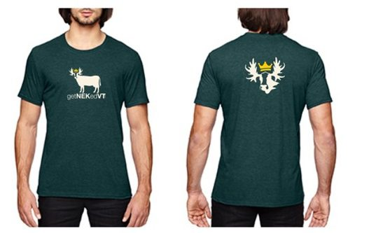getNEKedVT CowMoo Domain Tee in Green