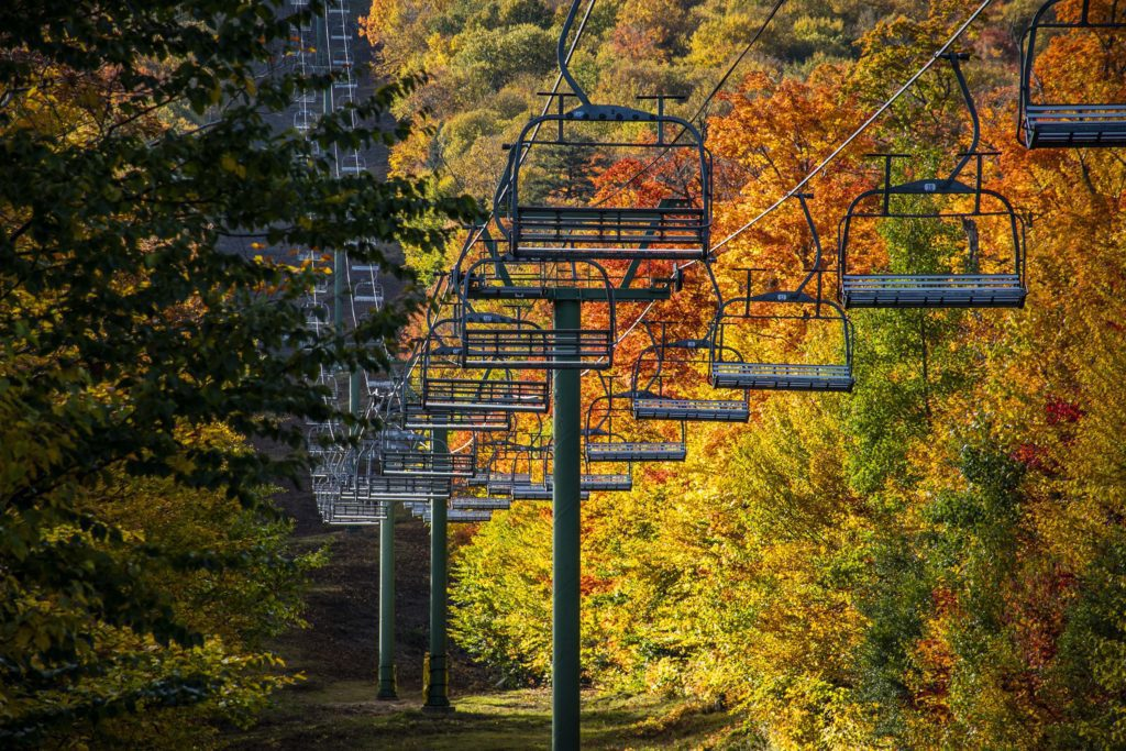 Chairlift Foliage